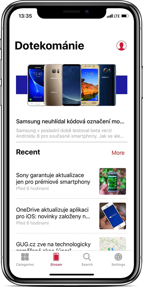 Aplikace pro iOS